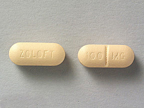 ZOLOFT 100MG TABLETS
